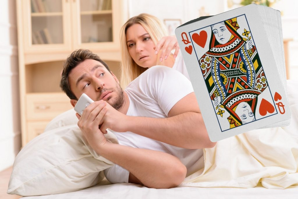 Гадание на игральных картах - Изменяет ли вам мужчина?