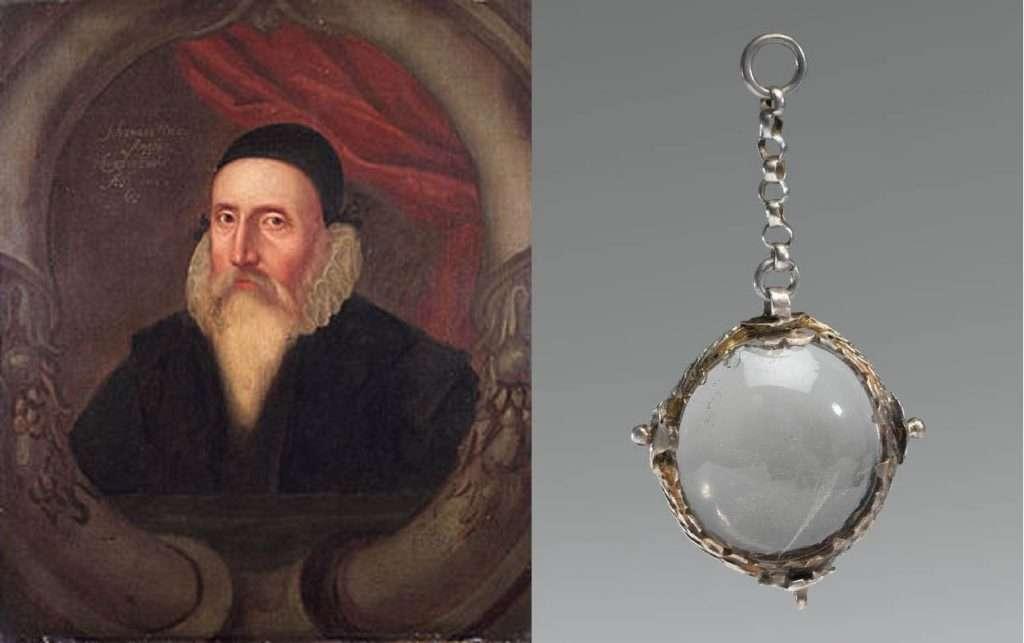 Джон Ди и его магический кристальный шар для гадания